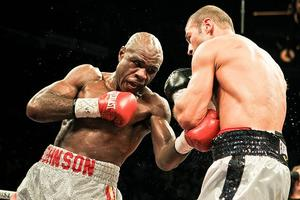Johnson Still Has World Title Ambitions
