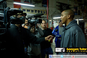 Andre Ward Speaks to the media