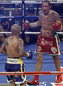 Cotto gained revenge over Margarito