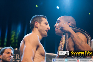 Froch and Ward Face off at the weigh in
