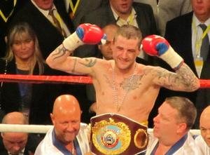 Ricky Burns showed hall of fame heart to keep his title.