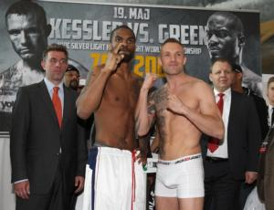 Kessler and Green prepare for battle