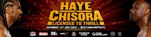Haye Chisora Fight Poster