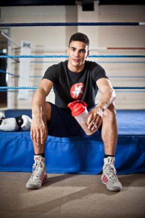 Team GB's Olympic middleweight hope