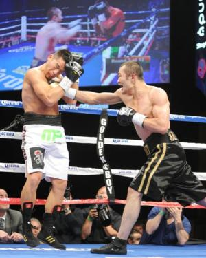 Shumenov and Ornelas battle in Vegas