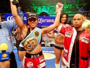 Knight  celebrates win over Vazquez