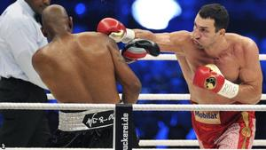 Klitschko repeats his win over Thompson in Switzerland