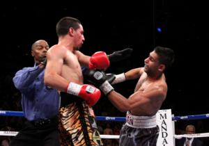 Garcia and Khan Battle in Vegas