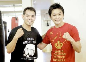 Donaire and Nishioka clash on Oct 13