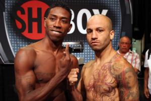 Romero and Esquivias fight on Shobox