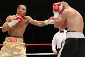 Quinlan And Eubank Jr Face To Face
