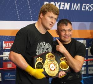 Povetkin  and Tszyu make a good team