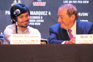 Arum Does Not Think Mayweather Jr Vs Pacquiao Will Happen