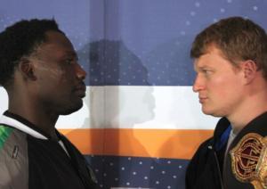 Rahman and Povetkin head to head