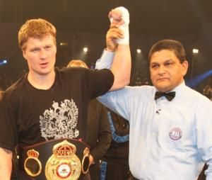 VADA Reports Adverse Sample Result From Alexander Povetkin
