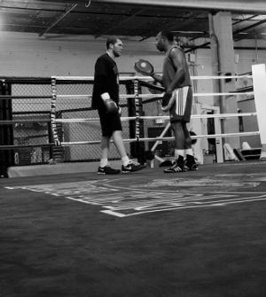 Salita sparring David Glick