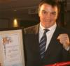 "Jeff ""Hit Man"" Harding Honoured by WBC"