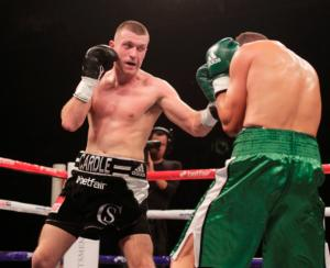Cardle Expects A Tough Battle In Manchester