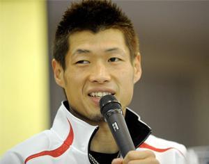Hasegawa is a triple champion!