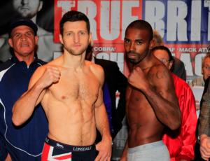 Froch is a heavy favourite to beat Mack