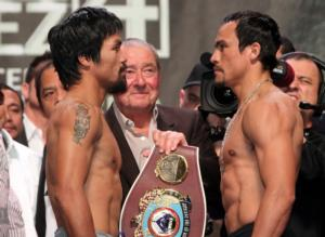 Pacquiao and Marquez go head to head