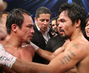 Marquez and Pacquiao fought fight of the year