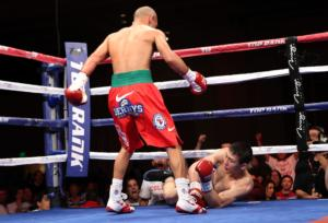 Ray Beltran up one.