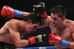 Has Leo Santa Cruz been in a bad fight?