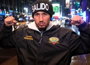 Orlando Salido Hits NYC