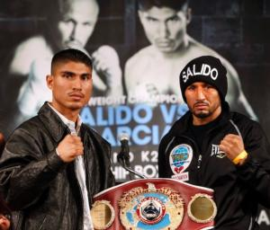 Garcia defeated Salido in New York