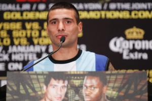 Matthysse on the podium