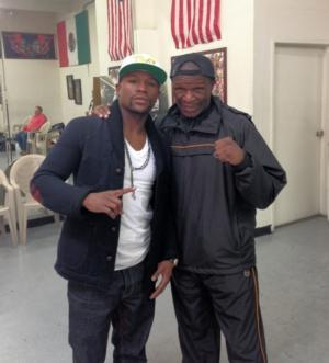 Floyd Snr Backs Jr To School Maidana