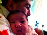 Michael Medina & Baby Josephine