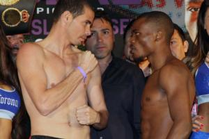 Abril and-Bogere weigh in
