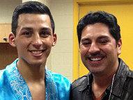 (Hugo Centeno Jr. & Joel De La Hoya)
