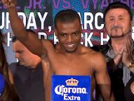 Bogere at weigh in.