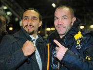 Thurman (L) - Zaveck (R)- Photo © Rich Kane - Hoganphotos / Golden Boy Promotions