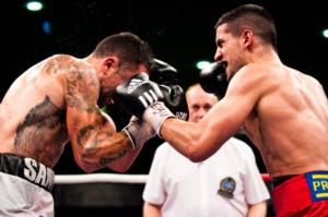 Santos and Nader battle to adraw