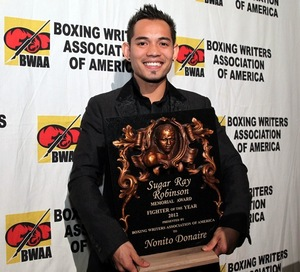 Donaire back with a win.
