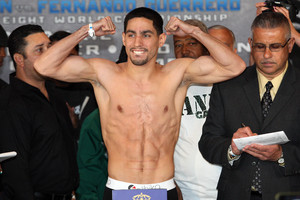 Garcia makes weight
