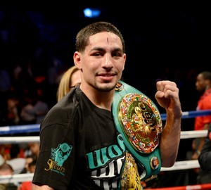 Danny Garcia picked up a non-title win.