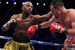 Mayweather(L) is still No.1