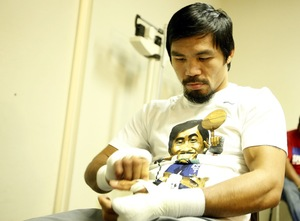 Pacquiao returns to the dark side