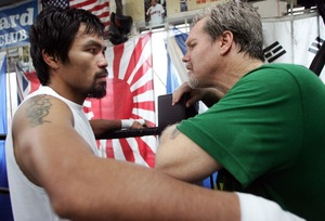 Freddie Roach Wishes Manny Paquiao Best Of Luck
