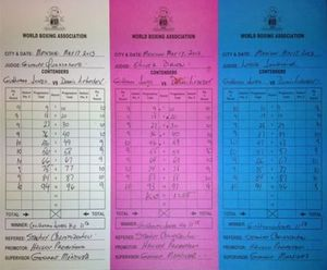 Jones vs Lebedev scorecard
