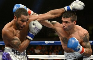 Matthysse and  Peterson battle it out