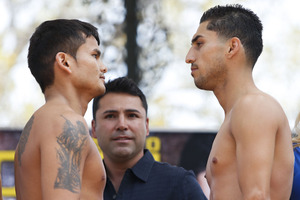 Maidana and Lopez are ready to rumble
