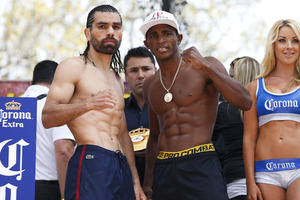 Angulo and Lara face off