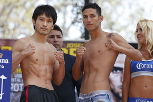 Kamegai and Perez  fight for vacant title