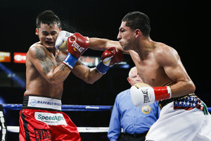 Maidana is back in at No.10